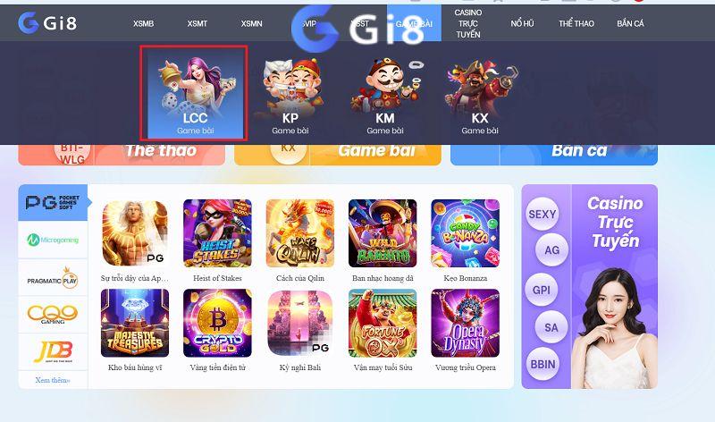 Cổng game xóc đĩa đổi thưởng online Gi8