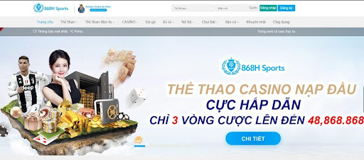 Linktaigame 868H- Thể thao casino cực hấp dẫn
